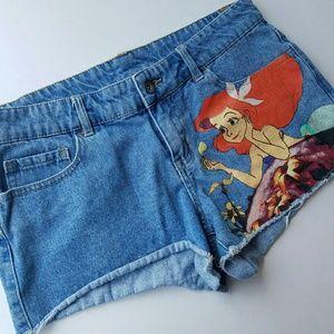 Disney Lil Mermaid Shorts